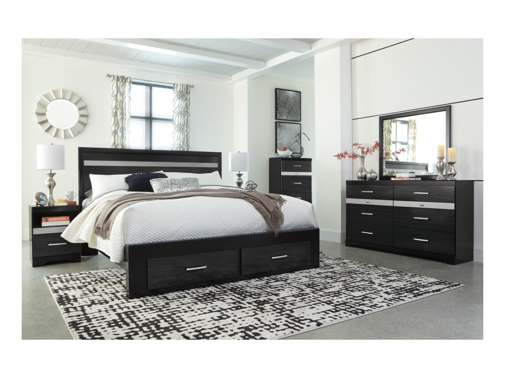 Signature Design by Ashley StarberryKing Storage Bed