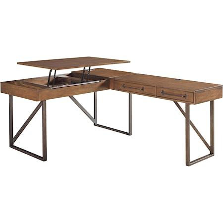 L-Shaped Home Office Desk
