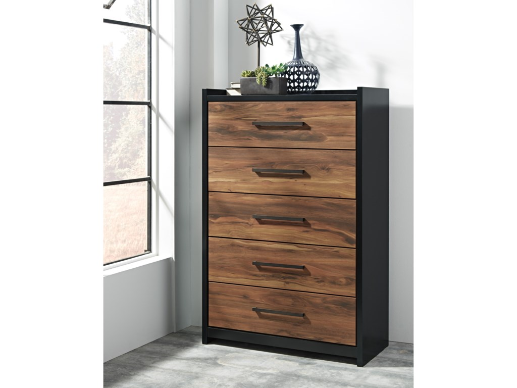 Ashley (Signature Design) StavaniFive Drawer Chest