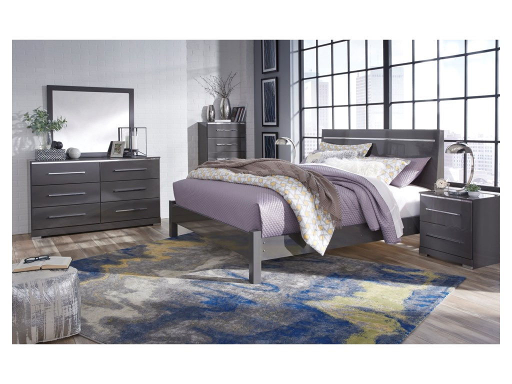 Signature Design by Ashley SteelsonKing Panel Bed