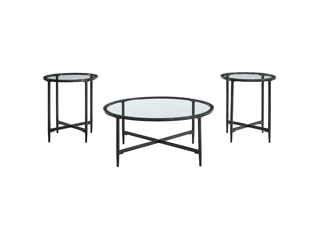Signature Design by Ashley Stetzer3-Piece Accent Table Set