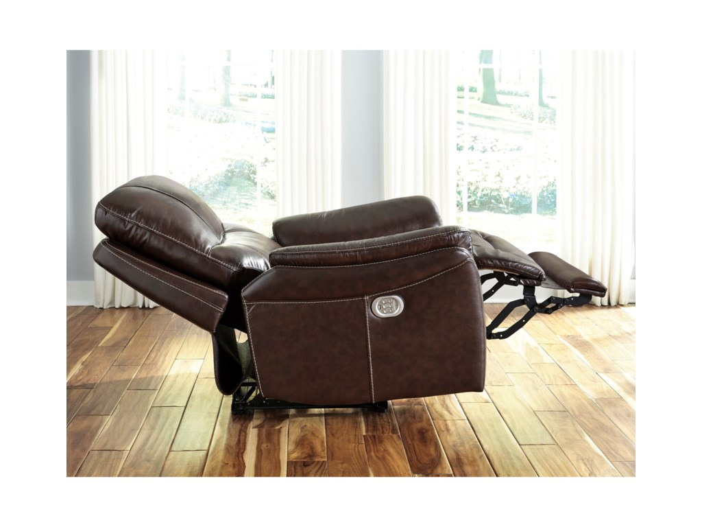 Signature Design by Ashley StolpenPower Recliner with Adjustable Headrest