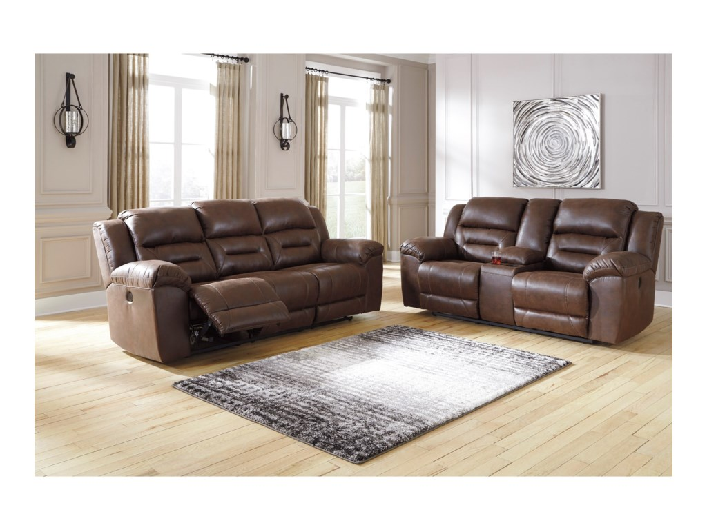Signature Design by Ashley StonelandPower Reclining Living Room Group