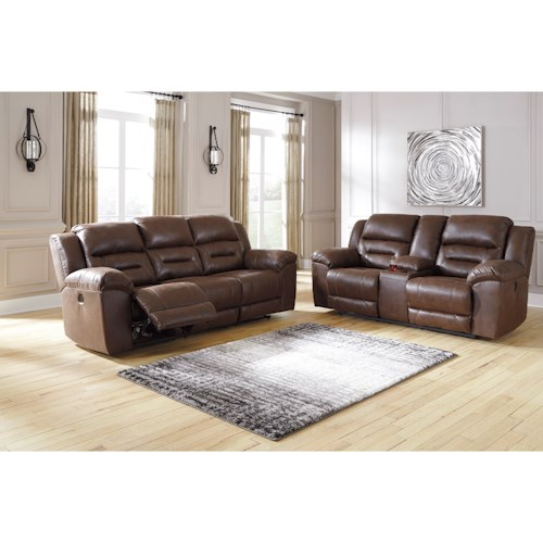 Signature Design by Ashley Stoneland Power Reclining Living Room Group
