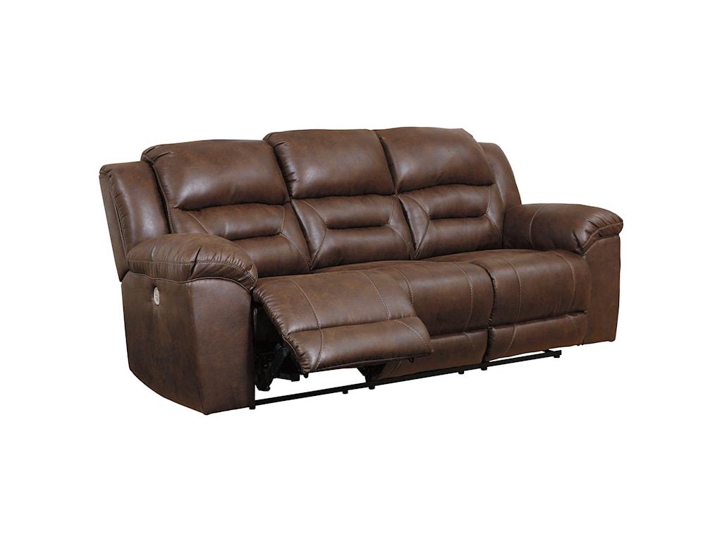 Signature Design by Ashley StonelandReclining Power Sofa