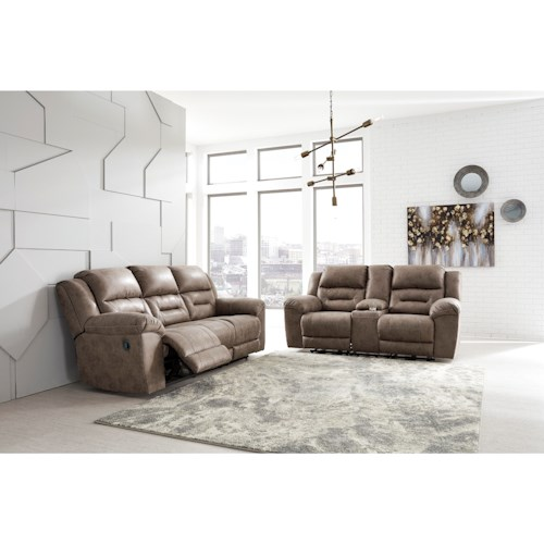 Signature Design by Ashley Stoneland Reclining Living Room Group