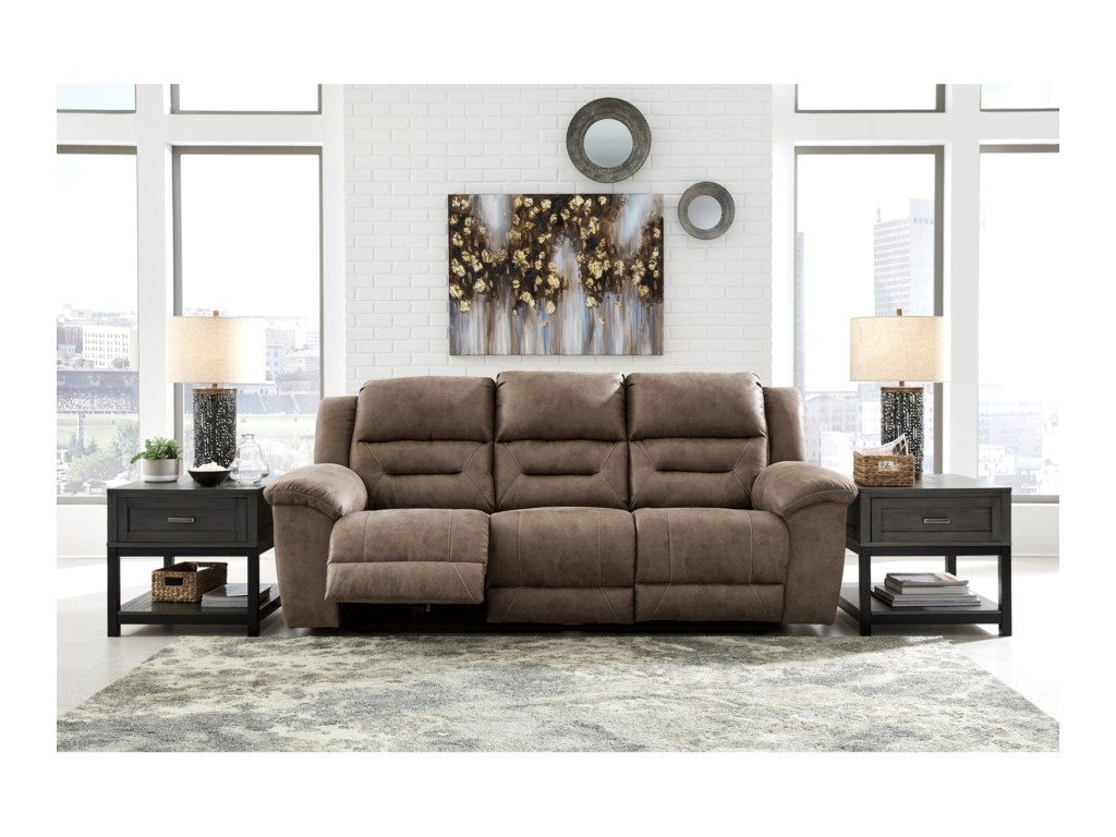 Signature Design by Ashley StonelandReclining Power Sofa