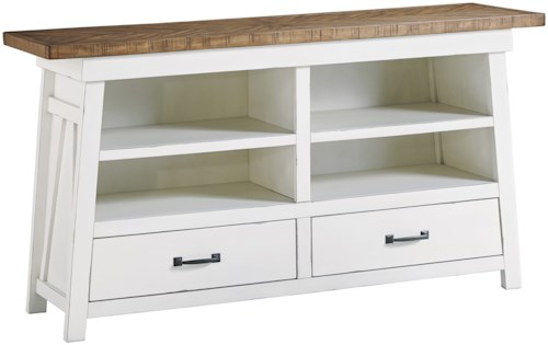 Signature Design by Ashley Stownbranner Two-Tone Dining Room Server