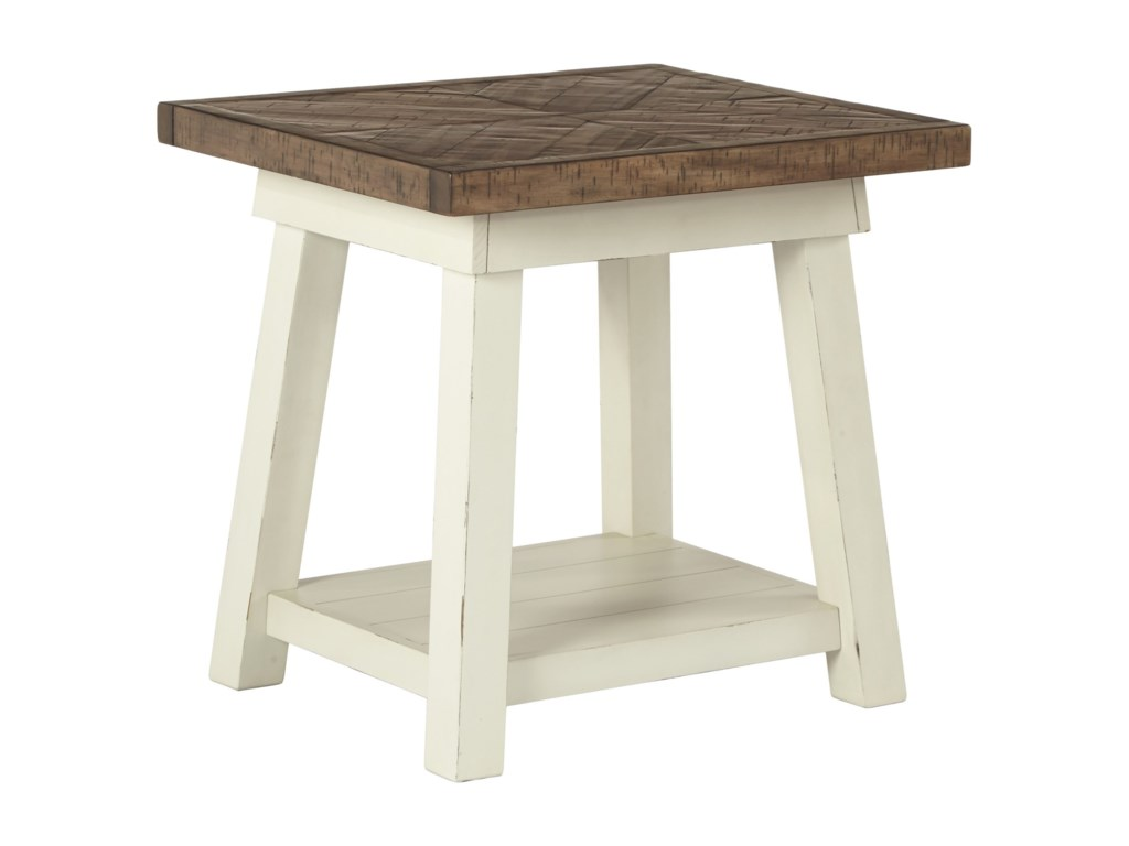 Signature Design By Ashley Stownbrannerrectangular End Table