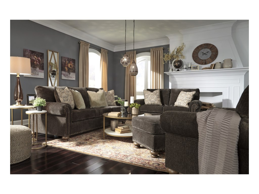 Signature Design by Ashley StracelenStationary Living Room Group