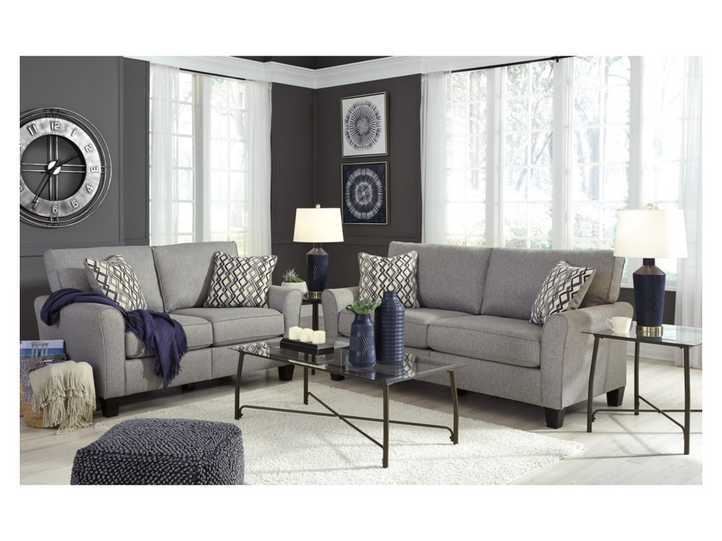 Signature Design by Ashley StrehelaStationary Living Room Group