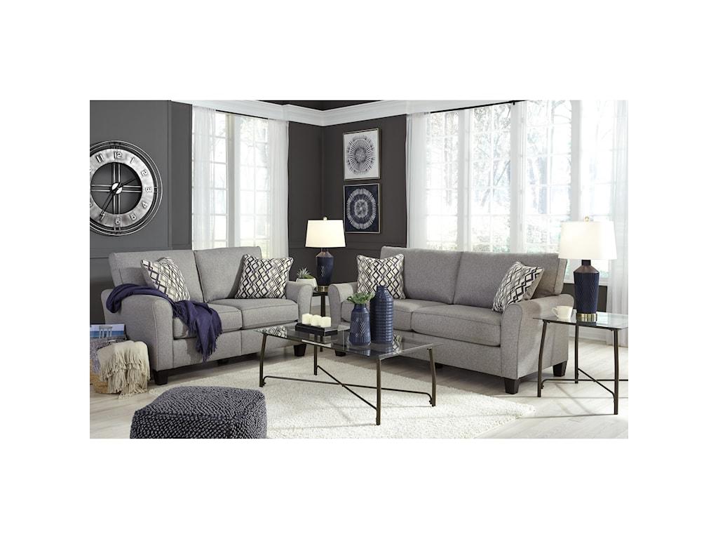 Signature Design by Ashley StrehelaStationary Sofa