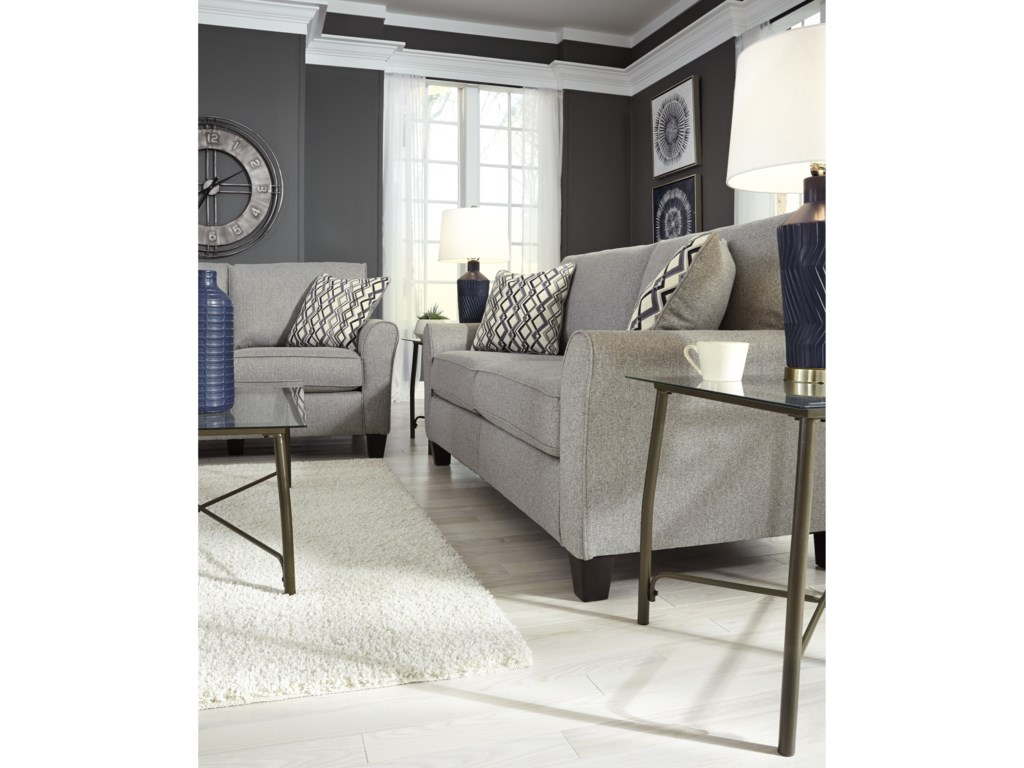 Signature Design by Ashley StrehelaStationary Sofa