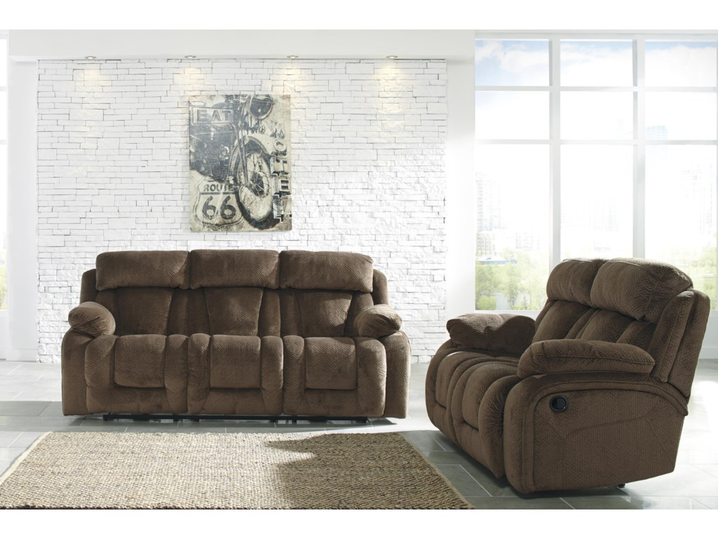 Signature Design by Ashley StricklinReclining Living Room Group