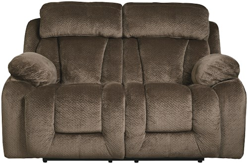 Signature Design by Ashley Stricklin Contemporary Reclining Loveseat