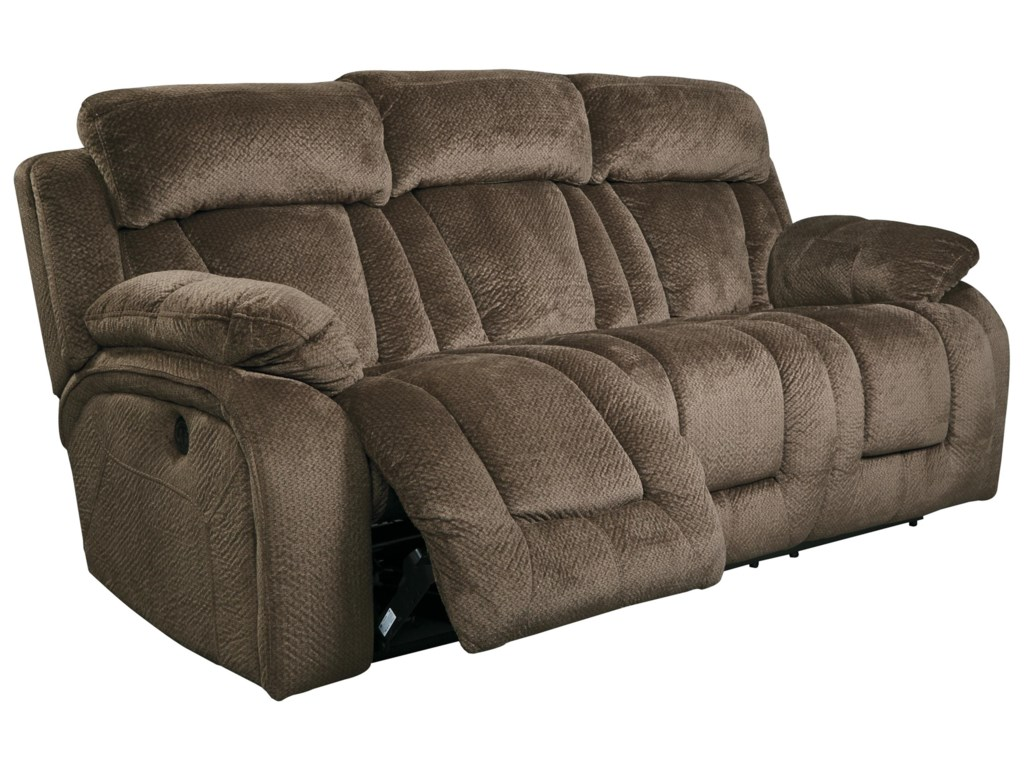 Power Recline Sofa Shown