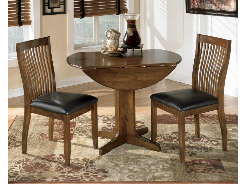 2 Chairs Shown with Table
