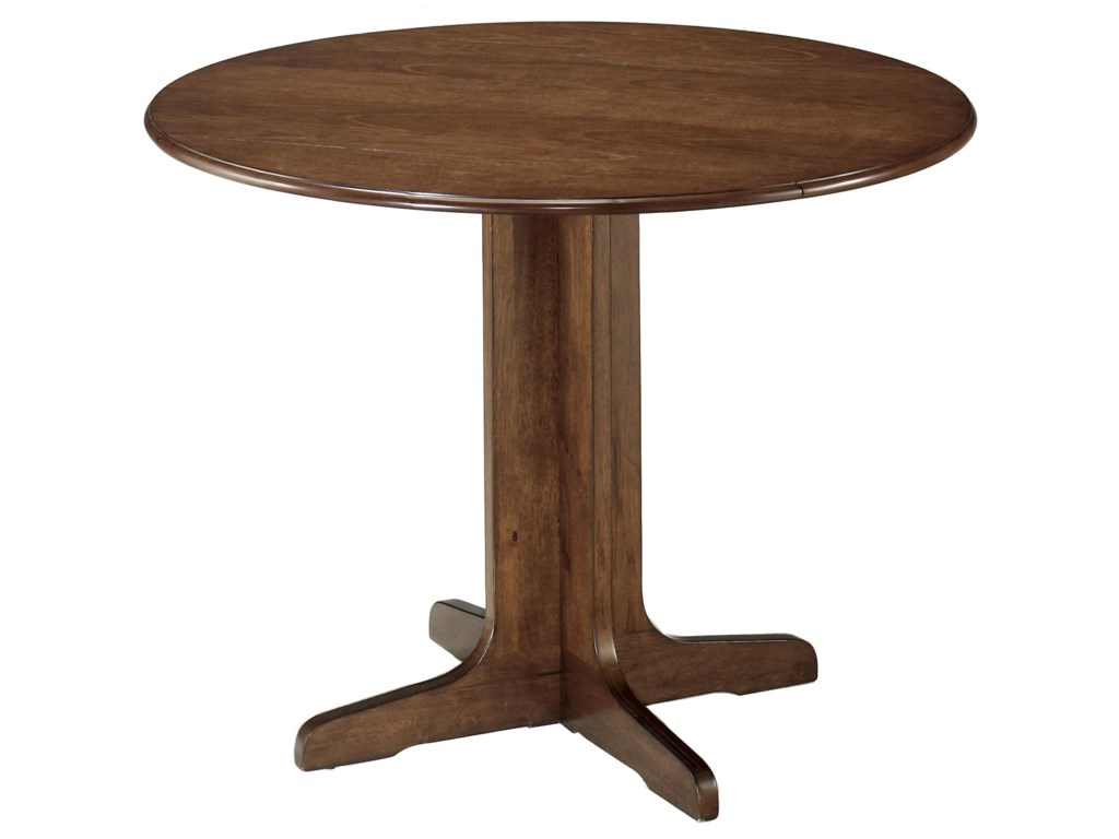 Signature Design by Ashley Stuman3-Piece Round Drop Leaf Table Set