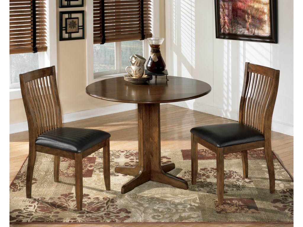 Table Shown with 2 Chairs