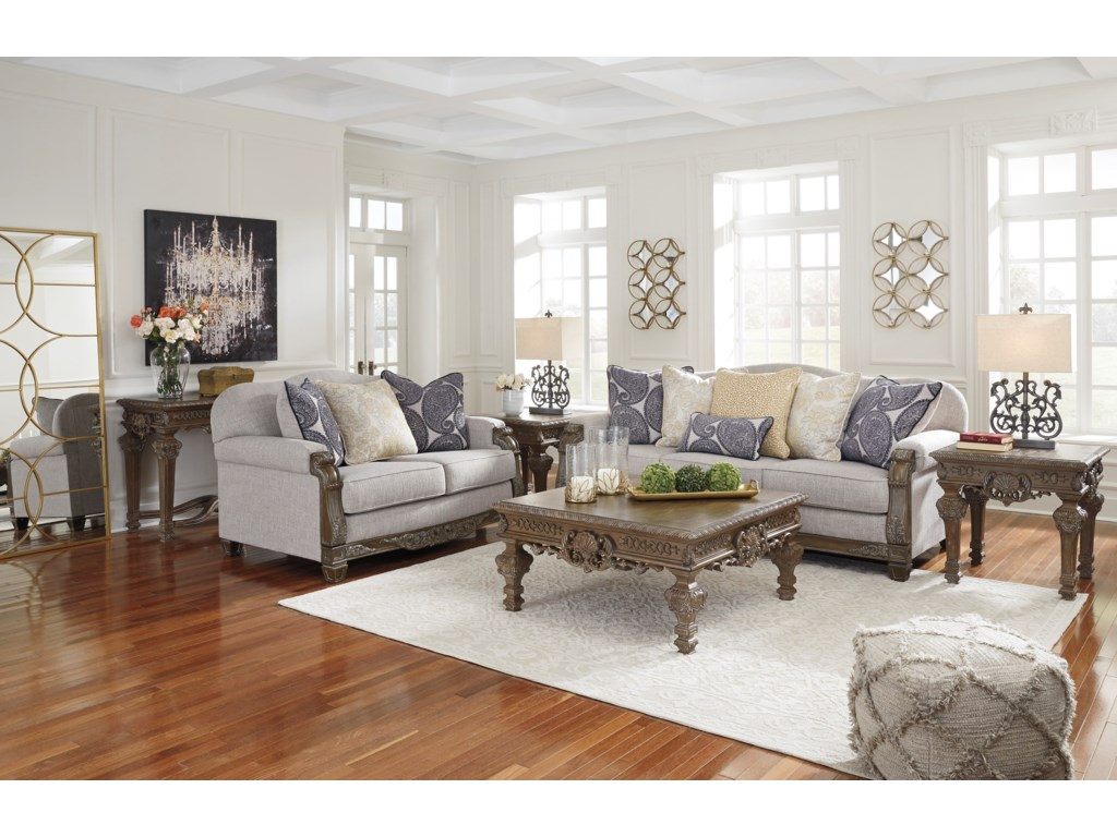 Signature Design by Ashley SylewoodStationary Living Room Group