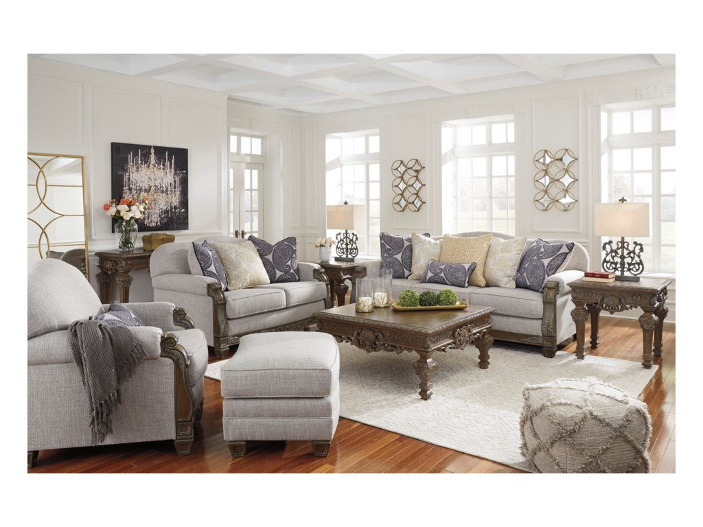 Signature SylewoodChair and Ottoman
