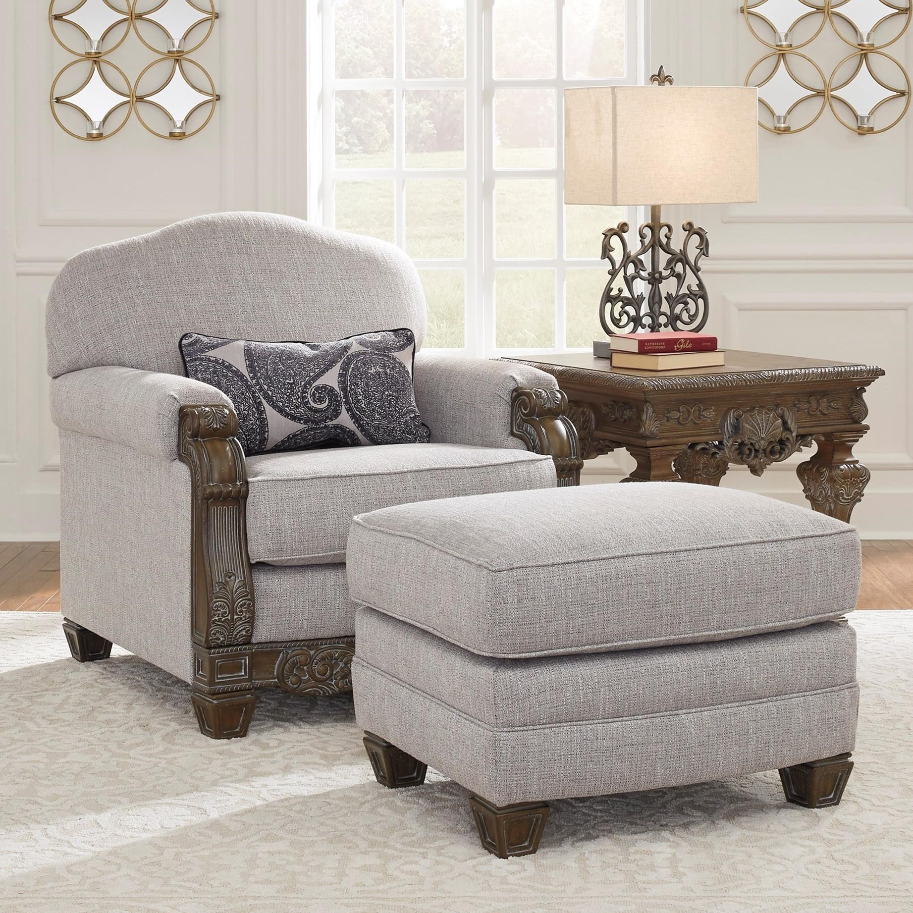 Sylewood Chair And Ottoman