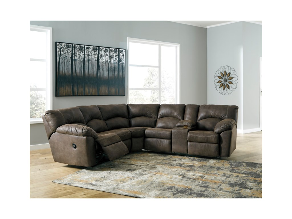 Signature Design by Ashley Tambo2-Piece Reclining Corner Sectional