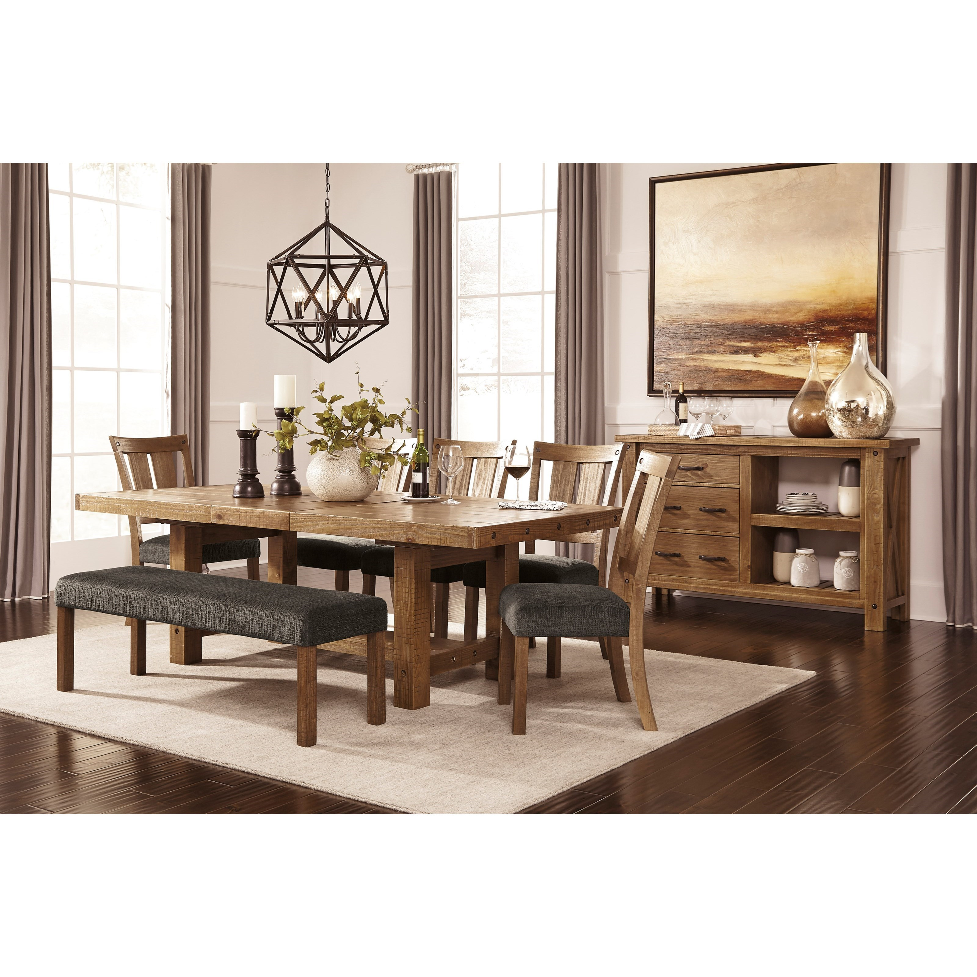 Signature Design By Ashley TamiloCasual Dining Room Group