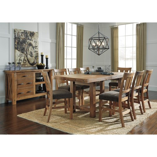 Signature Design By Ashley Tamilo Casual Dining Room Group Godby Home Furnishings Casual