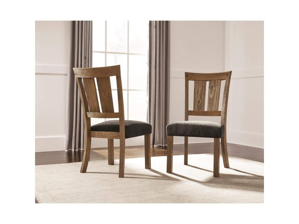 Signature Design by Ashley Tamilo9 Piece Table & Chair Set with Leaf