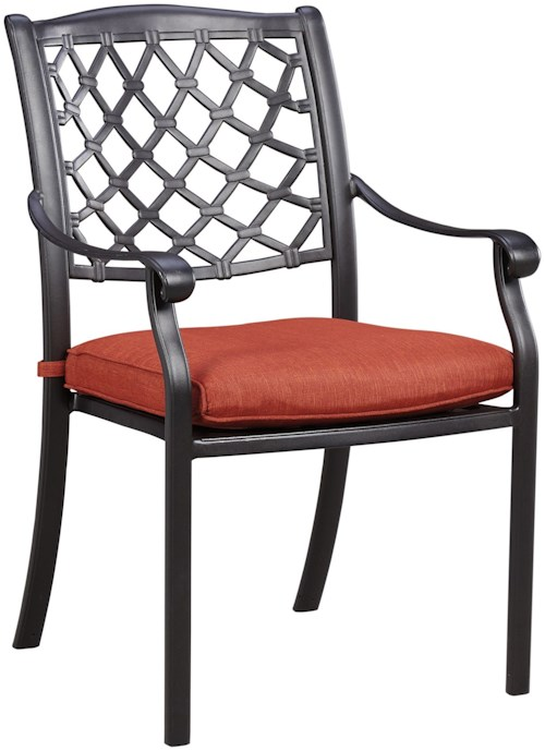 Signature Design by Ashley Tanglevale Outdoor Chair with Cushion