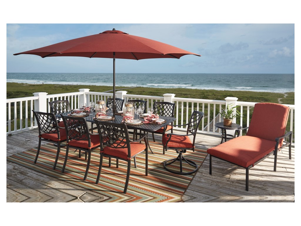Rooms Collection Three TanglevaleOutdoor Chair with Cushion
