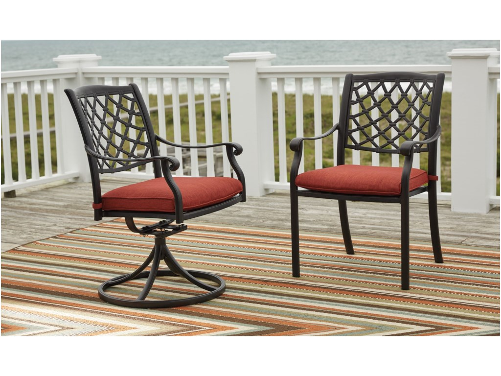 Benchcraft TanglevaleOutdoor Dining Table Set