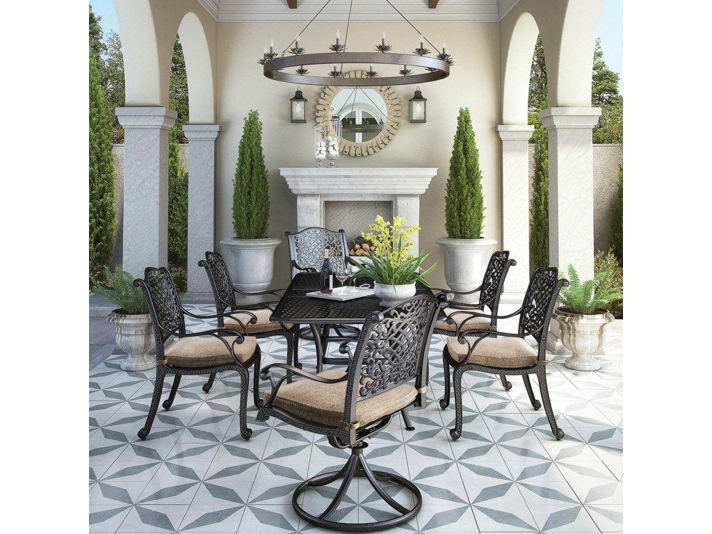 Signature Design by Ashley Tanglevale7 Piece Outdoor Dining Set