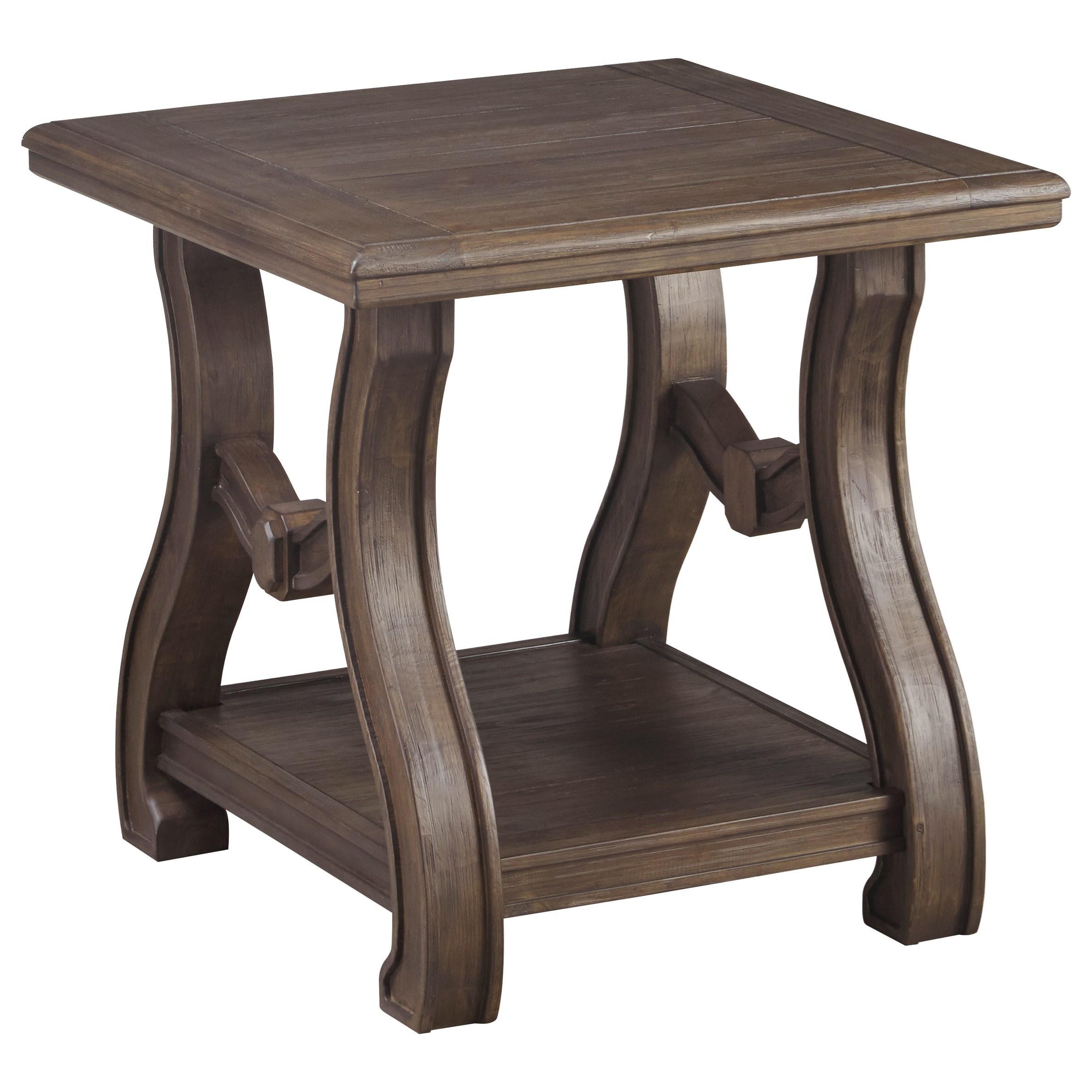 Signature Design TanobaySquare End Table ...