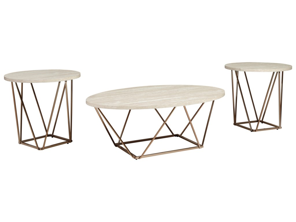 Signature Design by Ashley TaricaOccasional Table Set