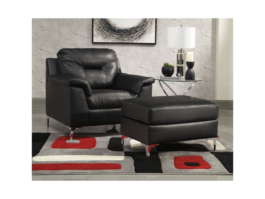 Signature Design by Ashley TensasChair and Ottoman