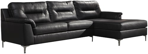 Signature Design by Ashley Tensas Contemporary 2-Piece Sectional