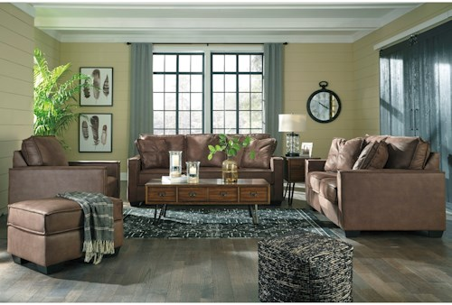 living room appliances. Signature Design by Ashley Terrington Stationary Living Room Group