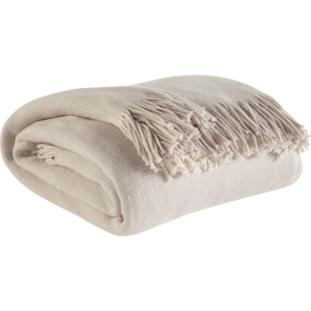 Haiden - Ivory/Taupe Throw