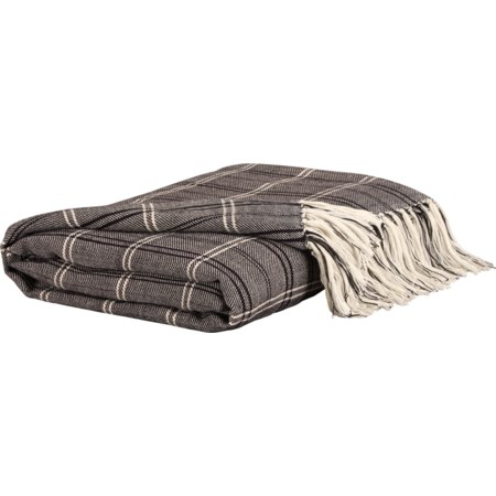 Luis - Black/Beige Throw