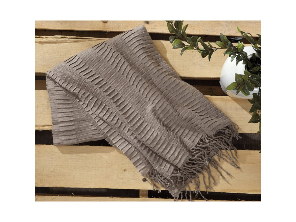 Signature Design by Ashley ThrowsMendez - Taupe Throw