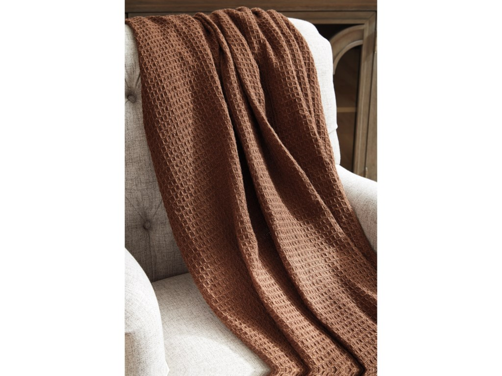 Signature Design by Ashley ThrowsRowena Brown Throw