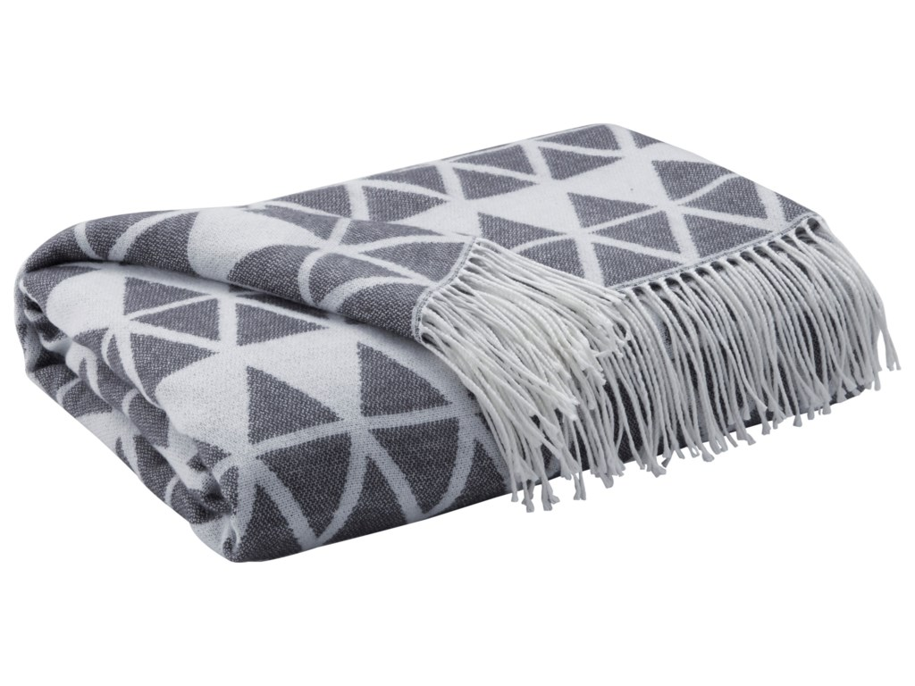 Signature Design by Ashley ThrowsNoemi - Slate Throw
