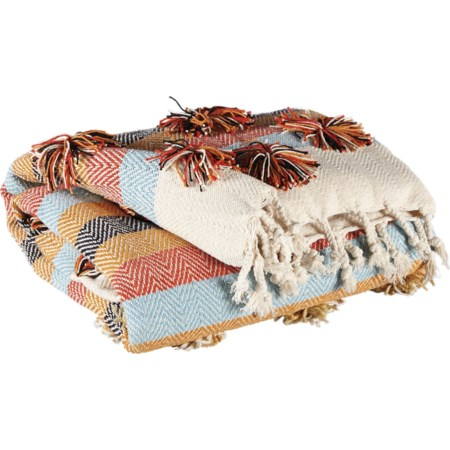Jacinta Multicolor Throw