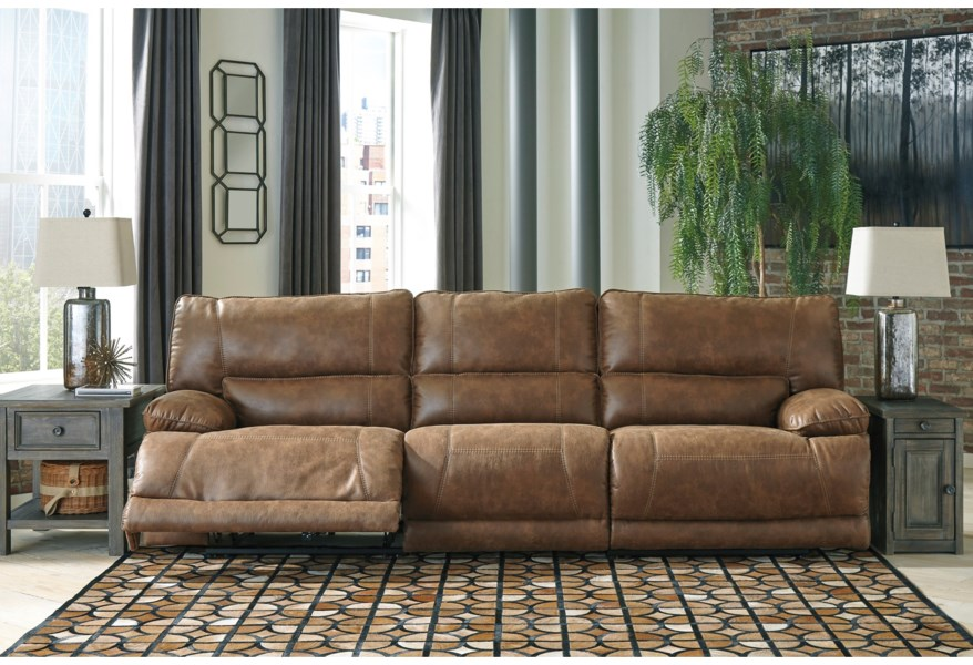 Thurles Power Reclining Sectional Sofa by Signature Design by Ashley at  Coconis Furniture & Mattress 1st