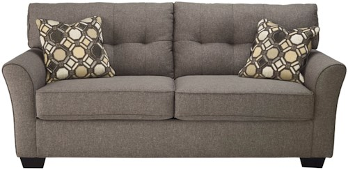 Signature Design by Ashley Tibbee Contemporary Sofa with Tufted Back