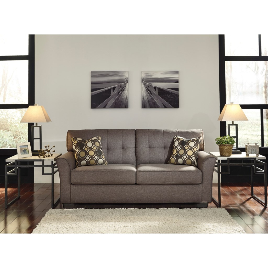 Tibbee Contemporary Sofa With Tufted Back By Signature Design By Ashley