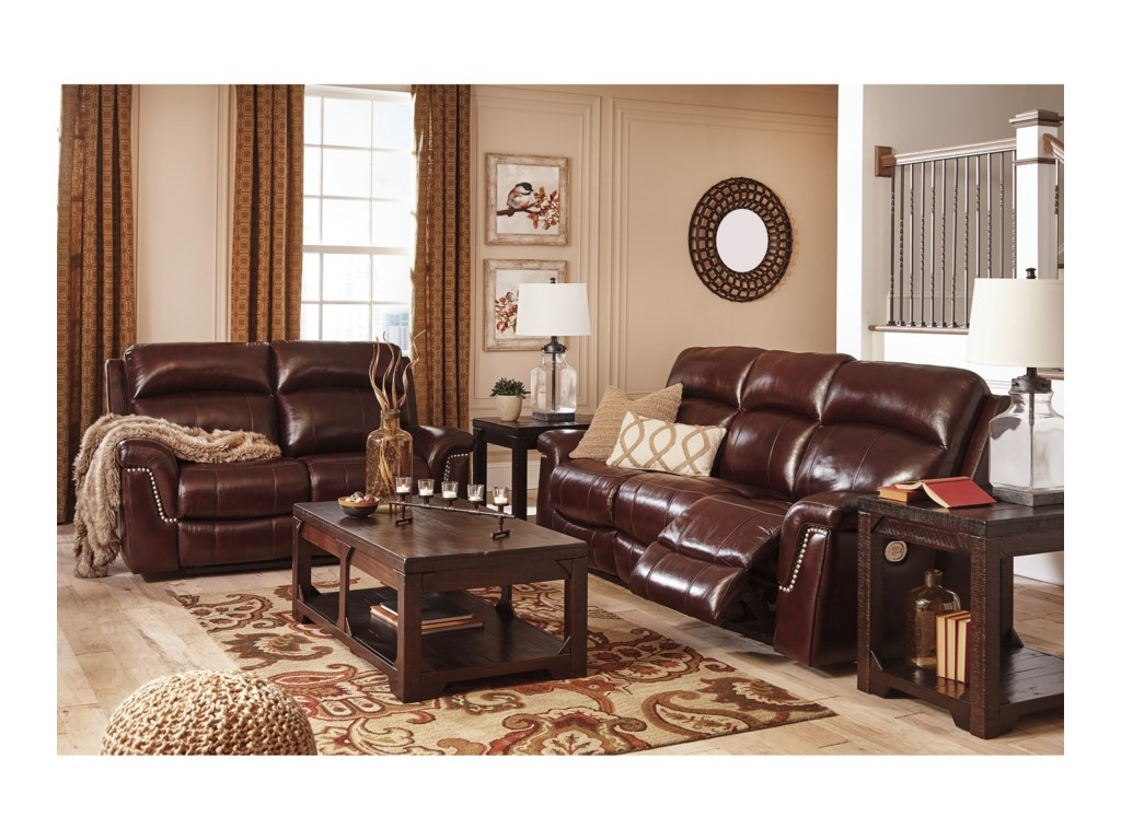 Signature Design by Ashley TimmonsReclining Living Room Group