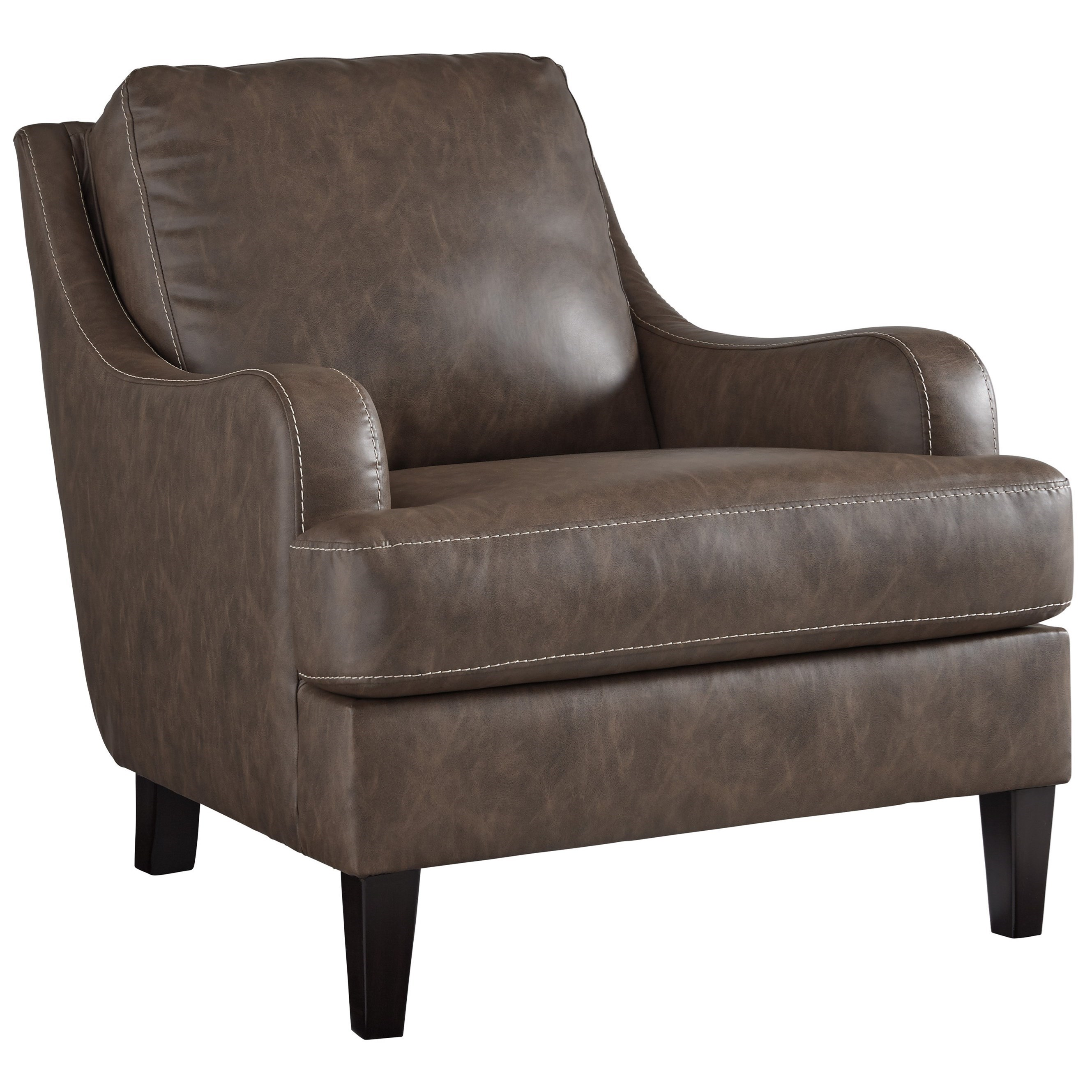 Tirolo Transitional Accent Chair With Sloped Arms By Signature Design By  Ashley